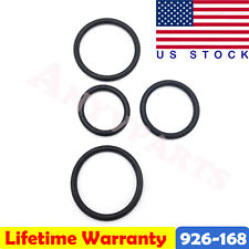 4PCS Engine Coolant Pipe O-Ring Kit Fits Ford F-150 926-168 - OE Solutions