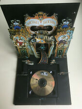 "MICHAEL JACKSON ""DANGEROUS"" RARE 1991 POP UP SLEEVE GOLD CD RELEASE"