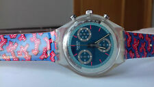 Swatch VINTAGE COLLECTION(1992)SWISS MADE SCK-100 WILD CARD CRONOGRAPH watch NOS