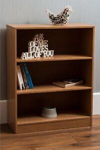 3-Tier Cube Shelf Unit Storage Display Stand Furniture Bookcase Organiser BROWN