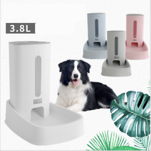 WM Naturally Automatic Pet Food Feeder, 3.8L Dry Food Dispenser for Dogs & Cats.