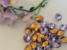 Rhinestones Rivoli Preciosa Alexandrite 39ss (8.1mm) Pack 0f 12 CRAFT Post Free