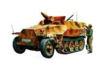 TAMIYA 35147 - 1/35 WWII Dt. SD.KFZ 251/9 HALBKETTE MIT 7,5cm KwK - NEU