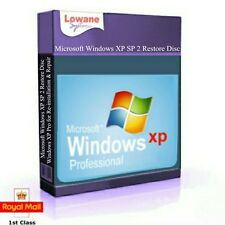 Windows XP Professional SP3 32 Bit  Repair Recovery Restore Operating System CD