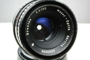Meyer Oreston 50mm f1.8 lens, M42 screw,