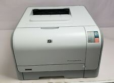 HP Color Laserjet CP1215 Workgroup Printer with installed toners