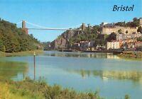 Postcard BRISTOL Avon Gorge and Clifton Suspension Bridge River Avon 64X