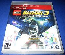 LEGO Batman 3: Beyond Gotham Sony PlayStation 3 *Factory Sealed! *Free Ship!