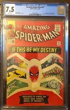 Amazing Spider-Man 31 CGC 7.5 WHITE PAGES!  1st Gwen Stacy / Spider-Gwen!