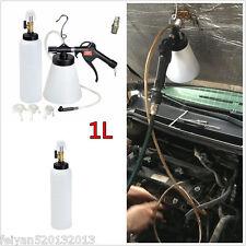 Air Brake Fluid Bleeder Kit Pneumatic Clutch Vacuum Hydraulic Fluid Fill Bottle