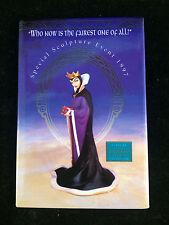 """WDCC Disney Pin - 2"""" x 3"""" - Special Sculpture Event 1997 - Evil Queen"""