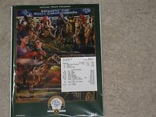 2015 Breeders's Cup Program & Results Ticket(American Pharoah)