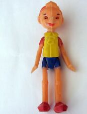 1950s Vintage Ussr Russian Soviet Celluloid Toy Doll Pinocchio Buratino