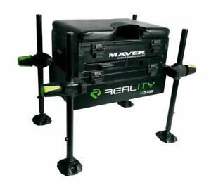 Maver Reality Seat Box NEW Coarse Fishing Seatbox - L1000