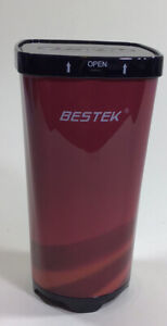 BESTEK 200W Cup Car Power Inverter with 2 AC Outlets and 4.5A Dual USB Cola Red