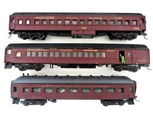 HO 3 Built Unbranded Pennsylvania Reading Seashore Lines Passenger Cars (131)