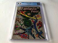 FANTASTIC FOUR 83 CGC 9.2 INHUMANS MEDUSA BLACK BOLT MARVEL COMICS