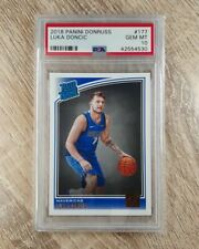 2018 Donruss - #177 Luka Doncic RC - Rated Rookie - PSA 10