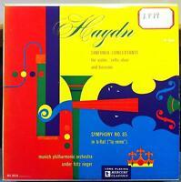 FRITZ RIEGER haydn sinfonia concertante LP VG+ MG-10116 Mercury Mono ED1 50s