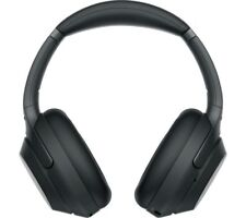 SONY WH-1000XM3 Wireless Bluetooth Noise-Cancelling Headphones - Black - Currys