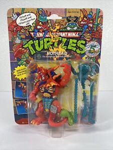 TMNT Ninja Turtles Hothead 1992 Playmates 5th Anniversary Action Figure Unopened