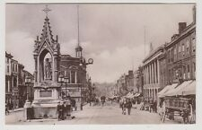 Kent postcard - Maidstone High Street looking West - RP - P/U 1924