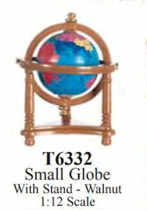 DOLLHOUSE 12TH SCALE -SMALL GLOBE ON STAND
