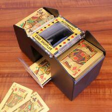 6 Deck Automatic Card Shuffler Casino Dealer Battery-Operated Electric Shuffler
