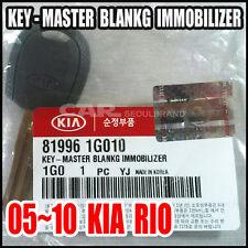 2005 06 07 08 09  KIA  RIO  KEY-MASTER BLANKING IMMOBILIZER Genuine 81996-1G010