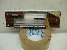 1970 1971 1972 Olds Cutlass Hurst Duel Gate Shifter Console Plate Gm 406328 442