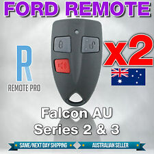 2 x Ford AU Falcon/FPV/XR6/XR8 Car/UTE Remote Control Series 2 & 3 99-02 AU2/AU3