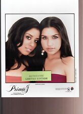 prima j limited edition press kit