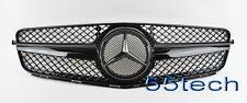 Mercedes 08~14 W204 C300 C350 C230 C200 Grille Grill 1 FIN 100% Glossy Black A3M