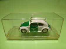 VITESSE VW VOLKSWAGEN KAFER OVAL - POLICE POLIZEI 1:43 - NEAR MINT IN BOX