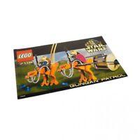 1x Lego Bauanleitung für Star Wars Episode 1 Gungan Patrol 7115