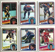 1984-85 O-PEE-CHEE 396-card Hockey Set w/ Steve Yzerman & Cam Neely ROOKIES