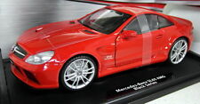 Motormax 1/18 Scale 79161 Mercedes Benz SL65 AMG Black Series Diecast model car