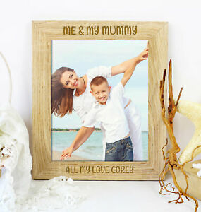 Personalised Me And My Mummy Photo Picture Frame Mothers Day, Birthday Gift