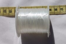 High Quality Stretchy String Cord Thread White Jewelry Crafts 10 meters /1 roll