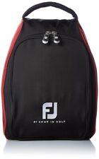 FootJoy Zapatos Bolsa FJSB152 Negro Rojo Nylon 220g Japón Con Seguimiento