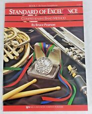 Standard Of Excellence Comprehensive Band Method Bruce Pearson 1 Tenor Saxophone