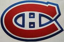 """HUGE MONTREAL CANADIENS IRON-ON PATCH - 5.75"""" x 8.25"""""""