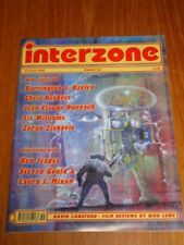 INTERZONE #160 OCTOBER 2000 CHRIS BECKETT LIZ WILLIAMS BEN JEAPES UK MAGAZINE =