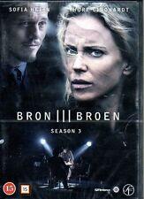 DVD TV-Serie Schweden SCHWEDISCH DÄNISCH: BRON III Die Brücke Säsong Staffel 3
