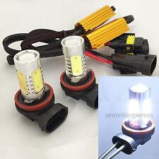 H11 CREE Q5 LED Projector Plasma Xenon 6000K White Lamp 2x Bulbs #s7 Fog Light