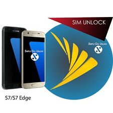 INSTANT Samsung Galaxy S7 s7 edge Sprint Sim Unlock Service 8.0!! ALL versions!