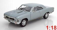 1:18 Ertl/Auto World Chevrolet Chevelle SS 396 1966 silver