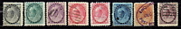 1898 Canada (BNA) Victoria P/SET of 8 Sc#74-83  M/H/OG/Used  Very Collectible
