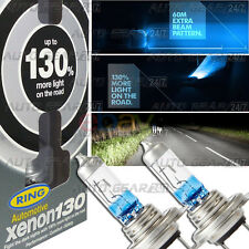 Ring Xenon 130% Brighter H7 RW3377 100% Gas 55w H7 Car Head light Lamp Bulb Pair