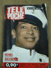 Télé Poche n° 172    mai 1969 henri salvador